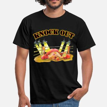 Knock Out Knock Out - Männer T-Shirt