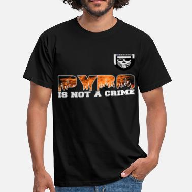 Pyro Pyro is not a Crime ! - Mannen T-shirt