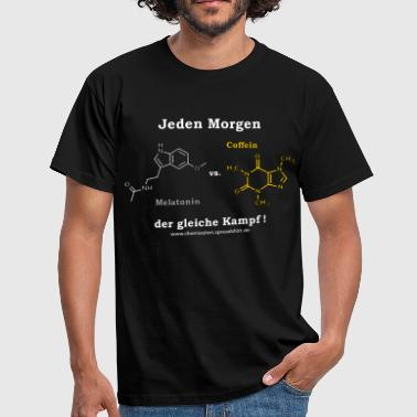 melatonin_vs_coffein_2_mp - Männer T-Shirt