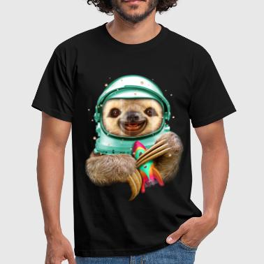 SPACESLOTH - Mannen T-shirt