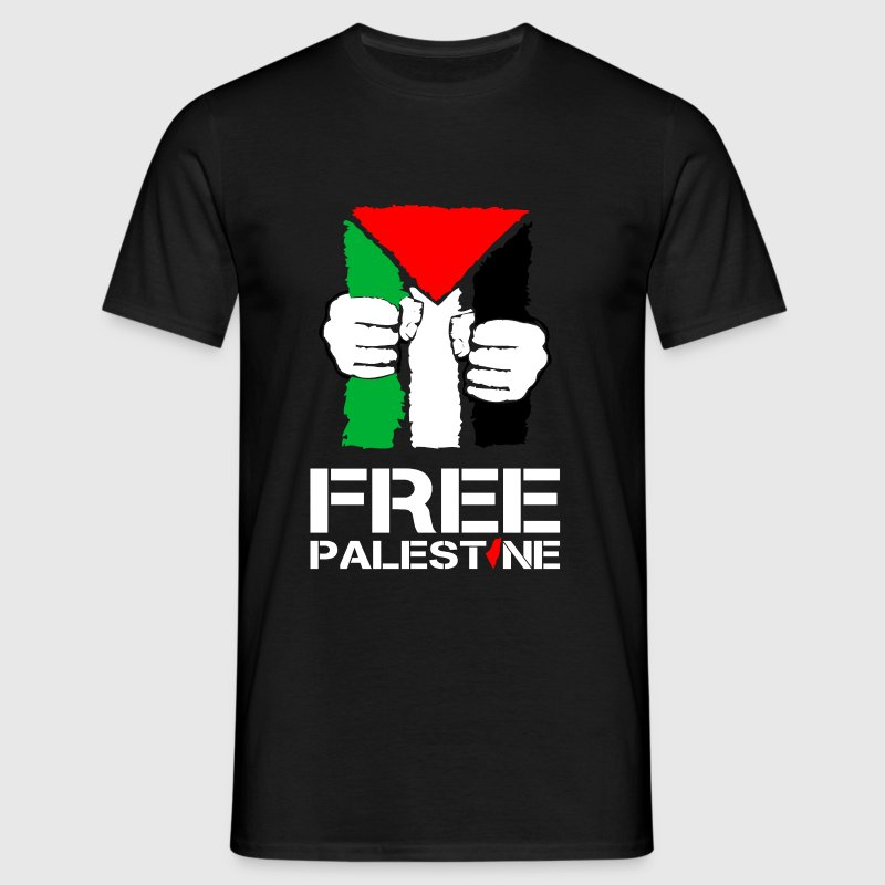 free palestine - Men's T-Shirt