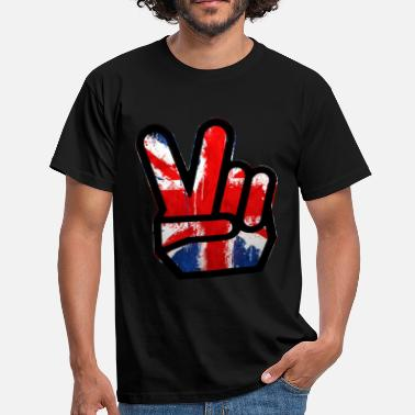 peace british - Men's T-Shirt