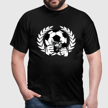 Angry Ball  - Mannen T-shirt