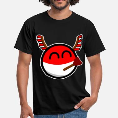Polandball Polandball - Men's T-Shirt