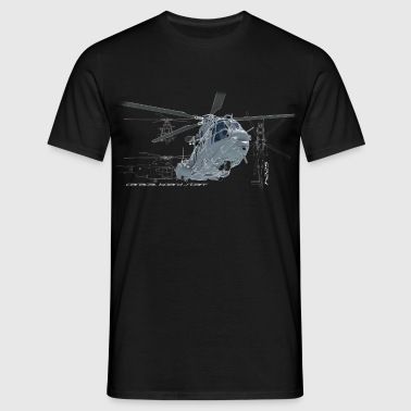 Caracal helicopter color - T-shirt Homme