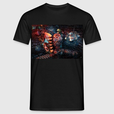 Caged - Men's T-Shirt