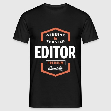 Genuine Editor T-shirt - Men's T-Shirt