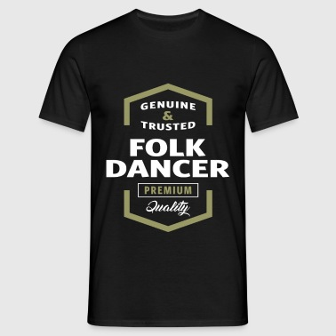 Folk Dancer - Men's T-Shirt