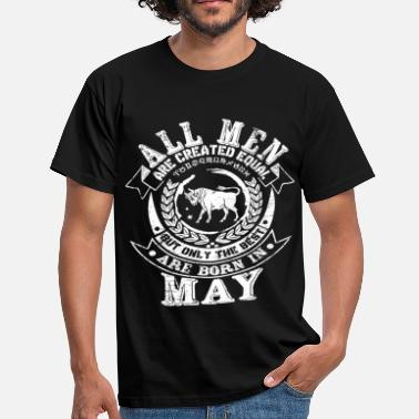 Taurus May Taurus May Birthday - Men's T-Shirt