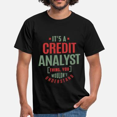 Credit Credit Analyst - Men's T-Shirt