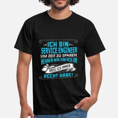Service SERVICE ENGINEER - Männer T-Shirt