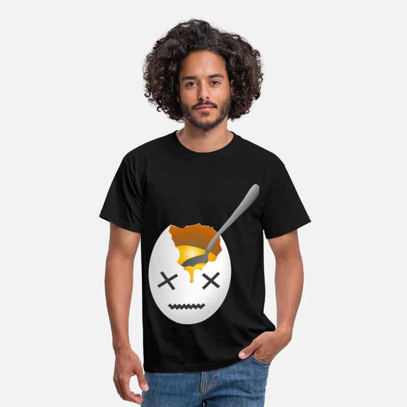 Egg T-Shirts - Ei XX tot - Men's T-Shirt black