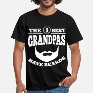 Best Grandpa Best Grandpas Have Beards - T-shirt Homme