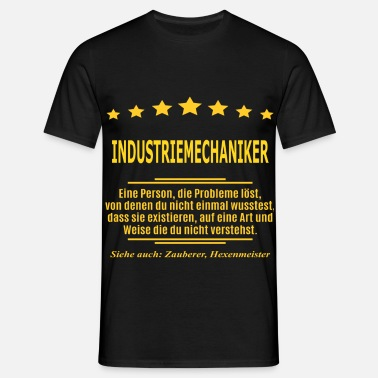 Person INDUSTRIEMECHANIKER - Männer T-Shirt