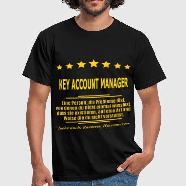 KEY ACCOUNT MANAGER - Männer T-Shirt