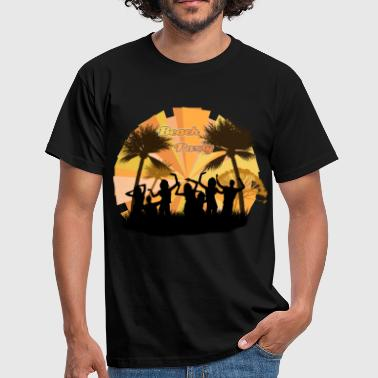 Beach Party - Männer T-Shirt