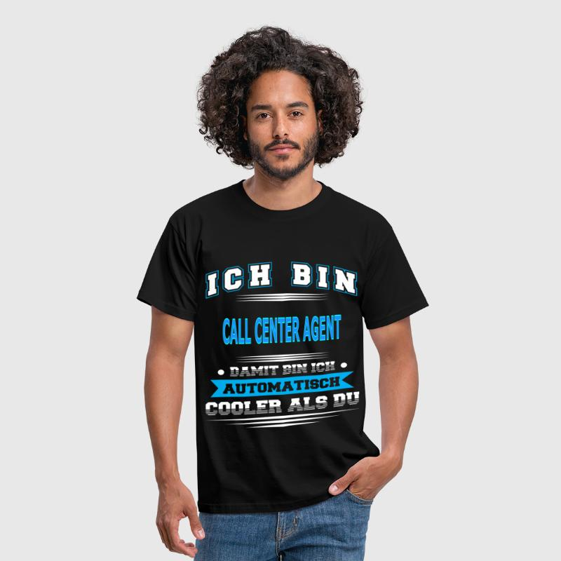 CALL CENTER AGENT - Männer T-Shirt