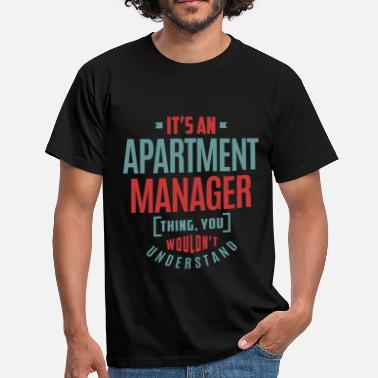 Apartment Apartment Manager - Men's T-Shirt