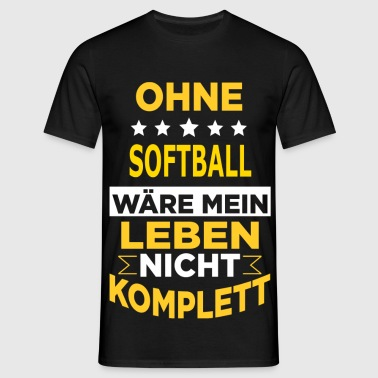 SOFTBALL - Männer T-Shirt