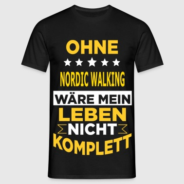 NORDIC WALKING - Männer T-Shirt