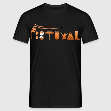 festival mud - Men's T-Shirt