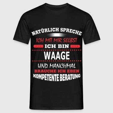 suchbegriff 39 waage spr che 39 t shirts online bestellen. Black Bedroom Furniture Sets. Home Design Ideas