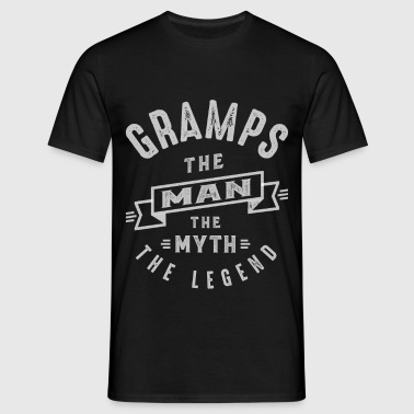 Gramps Man Myth Legend - Men's T-Shirt