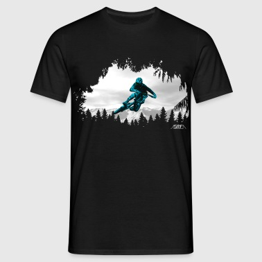 Mountain rider - Männer T-Shirt