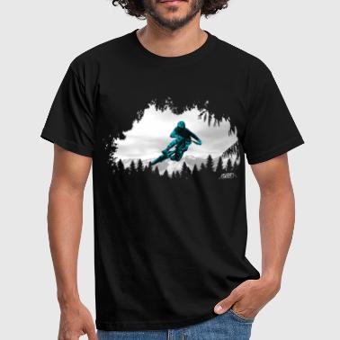 Mountain rider - Men's T-Shirt