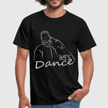 Belgian Malinois Let's dance - Men's T-Shirt