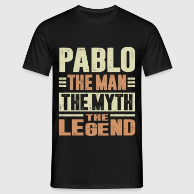 Pablo The Man - Men's T-Shirt