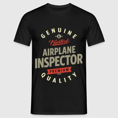 Airplane Inspector - Men's T-Shirt