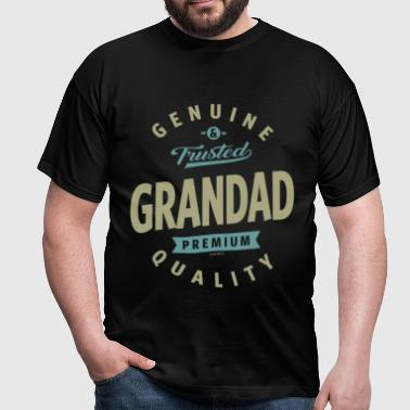 Genuine Grandad - Men's T-Shirt