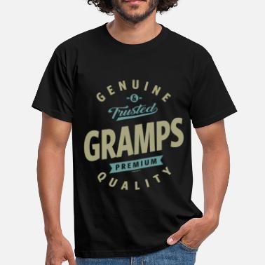 Gramps Genuine Gramps - Men's T-Shirt