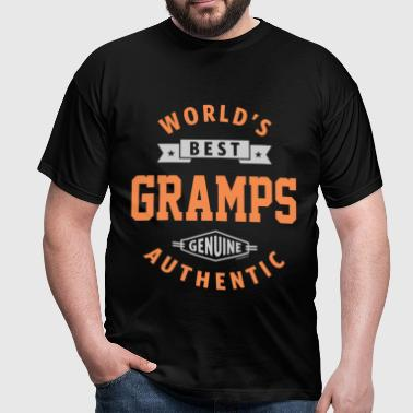 World Best Gramps - Men's T-Shirt