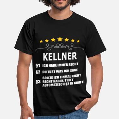 Kellner Superhelden KELLNER - Männer T-Shirt