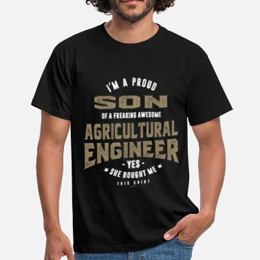 Aircraft Agricultural Engineer - Men's T-Shirt