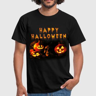 happy_halloween_o - T-shirt Homme