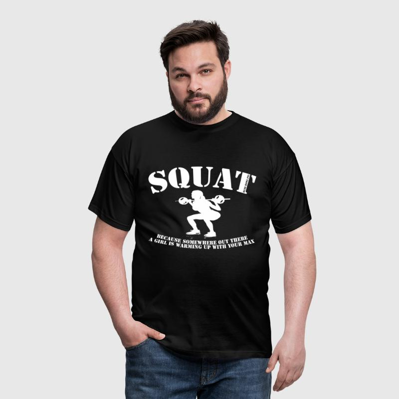 Squat (2) - Men's T-Shirt