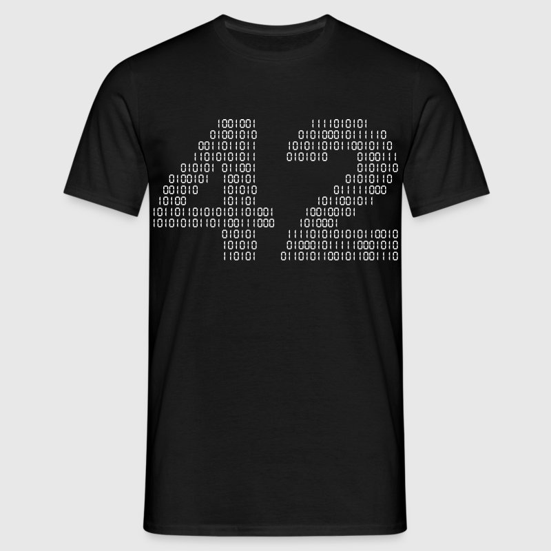 42 (The hitchhiker's guide to the galaxy) - T-shirt Homme
