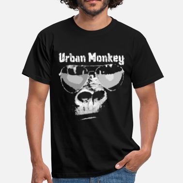Hiphop Urban urban monkey - Men's T-Shirt