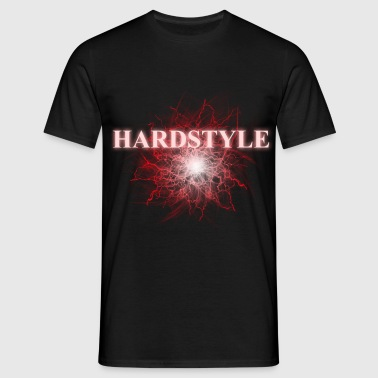 hardstyle_red - Mannen T-shirt
