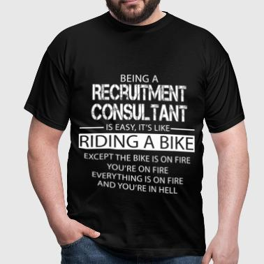 Recruitment Consultant - Men's T-Shirt