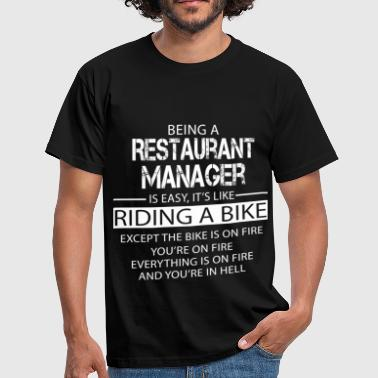 Restaurant Manager - Men's T-Shirt