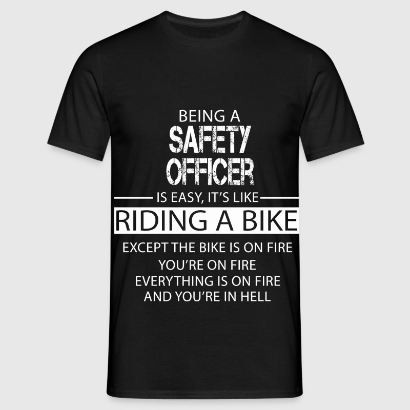 Safety Officer - Men's T-Shirt