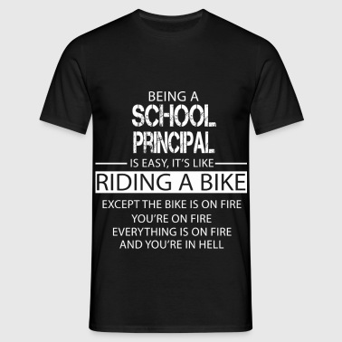 School Principal - Men's T-Shirt