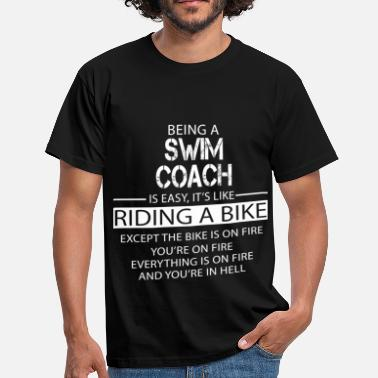 Swimming Coach Swim Coach - Men's T-Shirt
