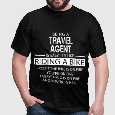 Travel Agent - Men's T-Shirt