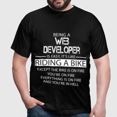 Web Developer - Men's T-Shirt
