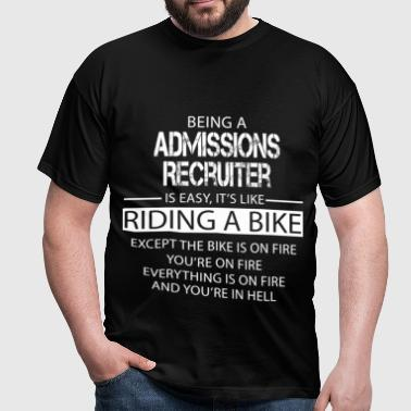 Admissions Recruiter - Men's T-Shirt